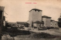 CONCOURT -54- L'EGLISE - Longwy