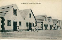 Nouvelle-Calédonie  Cases De Condamnés  (Ile Nou)  Cpa - Nouvelle-Calédonie