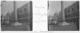 PP 147 - ITALIE - VENISE - La Piazzetta Sept 1929 - Glass Slides