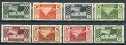 1936. - GRAND LIBAN -    RARE SET- 8 VAL. -  M.L.H.  LUXE !!. - Posta Aerea