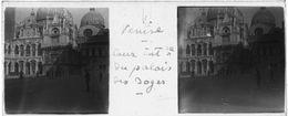 PP 148 - ITALIE - VENISE -Cour Intérieur Du Palais Des Doges  Sept 1929 - Glass Slides