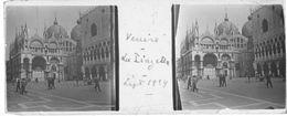 PP 149 - ITALIE - VENISE - La Piazzetta Sept 1929 - Glass Slides
