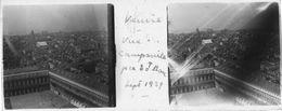 PP 150 - ITALIE - VENISE - Vue Du Campanile Place St. Marc Sept 1929 - Glass Slides