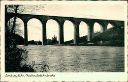 AK Limburg, Reichsautobahnbrücke, O 1943 (29649) - Limburg