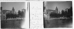PP 152 - ITALIE - VENISE - Les Bords Du Gd Canal Face à L'Académiesept 1929 - Glass Slides