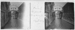 PP 153 - ITALIE - VENISE - Le Pont Des Soupirs Sept 1929 - Glass Slides
