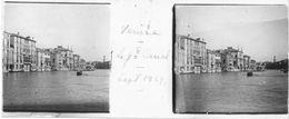 PP 155 - ITALIE - VENISE - Le Grand Canal - Sept 1929 - Glass Slides