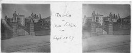 PP 156 - ITALIE - ASOLA - Une Villa -  Sept 1929 - Glass Slides