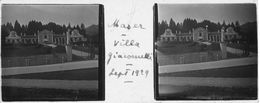 PP 158 - ITALIE MASER Villa Giaconnelli Sept 1929 - Glass Slides