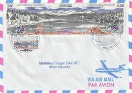 Lot De 15 Enveloppes 1993 Dont PA Ayant Circulées - Collections, Lots & Séries