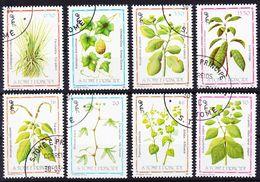 2017-0290 Sao Tomé 1983 Medical Plants Complete Set Mi 861-868 Used O - Heilpflanzen