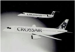 Pressefoto CROSSAIR - Embraer 145 / Embraer 190 (Modellfoto) - Luftfahrt