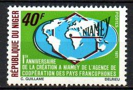 NIGER. N°244 De 1971. Francophonie. - Idioma