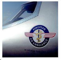 Pressefoto EUROPEAN AIR AMBULANCE - Learjet (?) - Cockpit Section - Repro's