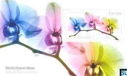 Ireland Stamps 2017, World Flower Show, MS - Ireland