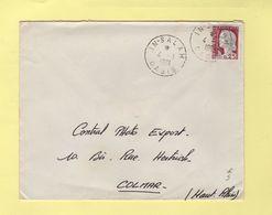 In Salah - Oasis - 4-1-1961 - Marianne De Decaris - Covers & Documents