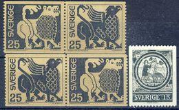 +Sweden 1971. Definitives. Art. Michel 706 + 2 Pairs 707-08. MNH(**) - Suède