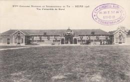 CPA - Reims -  XVe Concours National Et International De Tir 1908 - Vue D'Ensemble Du Stand - Reims