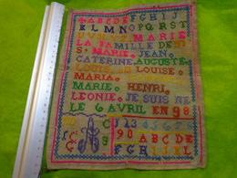 13 Abecedaires 1919 -1897-1959-1906-1871 Etc.... - Habits & Linge D'époque