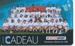 Carte Cadeau France Gitf Card Olympique De Mardeille L'OM Football Soccer (D 480) - Gift Cards