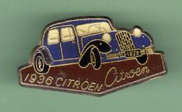 CITROEN *** TRACTION 1936 *** N°2 *** A027 - Citroën