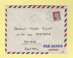 Fort Flatters - Oasis - 21-1-1962 - Marianne De Decaris - Covers & Documents