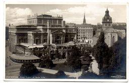 Tarjeta Postal De Estocolmo Circulada De 1932 - Suecia