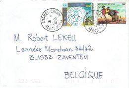 Lettre D'Abomey Calavi (Bénin) Vers La Belgique Du 19/10/2000 - Bénin – Dahomey (1960-...)
