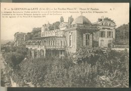 Le Pavillon Henri IV - La Délégation Autrichienne L'habita Pendant La Conférence Pour La Signature Du Traité De Paix (19 - St. Germain En Laye