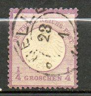 ALLEMAGNE - Empire    1872  ( O )  Y&T N° 1 - Oblitérés
