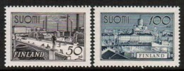 1942 Finland Tampere&Helsinki Towns, Very Fine Complete Set MNH. - Nuevos