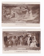 Jolie Série De 5 CP Anciennes : La Vie De Jeanne D'Arc, Par Lionel Royer (1852-1926) - Logiciels