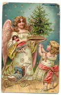 Tarjeta Postal De Navidad Circulada 1908. - Otros Temas
