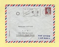 Ghardaia - Oasis - 5-6-1962 - Le M'zab Ses Sept Cités Millenaires - Marianne D EDecaris - Algeria (1924-1962)