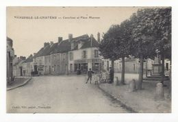 Neauphle Le Chateau  -  Carrefour Et Place Mancest  -  Buvette Rousseau - Neauphle Le Chateau
