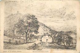COLMAR - Wasserburg, Carte éditée Au Profit Des Colonies De Vacances De Colmar Vente De 1899. - Colmar