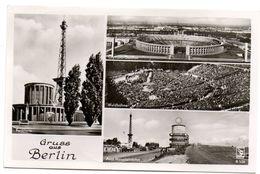 Tarjeta Postal De Gruss Aus Berlin Circulada 1956 - Gruss Aus.../ Gruesse Aus...