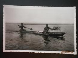 Dahomey, Jeune Piroguière Revenant Du Marché (1832) - Benin