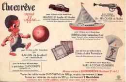 Buvard  CHOCOREVE Vous Offre - Chocolat