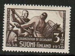 1938 Finland, Delaware, New Sweden **. - Neufs
