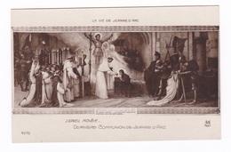 Jolie CP Ancienne : La Vie De Jeanne D'Arc, Dernière Communion De J. D'A., Par Lionel Royer (1852-1926) - Software