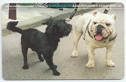 NL.- Honden, Serie Mens En Huisdier. Aanhankelijk. Trouw. Zelfstandig. 10 Gulden. A819 - Honden