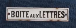 Plaque émaillée Boite Aux Lettres POSTE BELGE Vintage - Advertising (Porcelain) Signs
