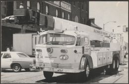 Baltimore City Fire Dept Areo Chief 96ft Snorkel - Koerber Postcard - Trucks, Vans &  Lorries