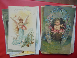 FANTAISES DIVERS LOT DE 35 CARTES DONT CIRCULEES - Cartes Postales