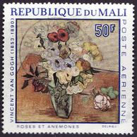 MALI  1968 -  PA  55  - Van Gogh  - Oblitéré - Mali (1959-...)