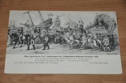 806- Fêtes Jubilaires Du 75me Anniversaire De L'Indépendance Nationale Bruxelles 1905 - België