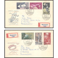 3766/ Espace (space Raumfahrt) Lettre (cover Briefe) 26/3/1962 Tchécoslovaquie (Czechoslovakia) - Lettres & Documents