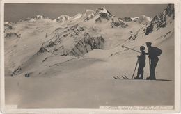 AK Blick Rotmoosjoch Hohe Weise Bianca Grande Ski Skifahrer Winter A Sölden Vent Pfelders Plan Moos Südtirol Tirol - Sölden