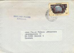 Mauritius - Second Class Airmail. Sent To Denmark.  H-1087 - Mauritius (...-1967)